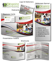 Corporate Identity - PR Package - Pinpoint Personnel
