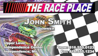Business Card - The Race Place (Demo)